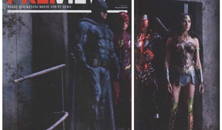 Divulgado uma nova imagem da Liga da Justiça!
