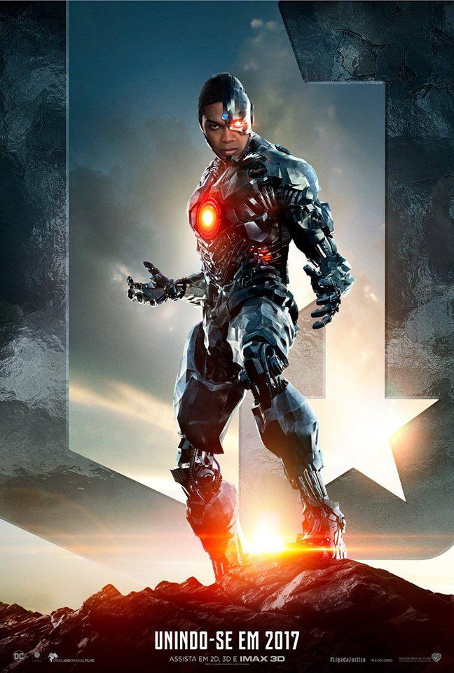 Resultado de imagem para a liga da justiça Cyborg