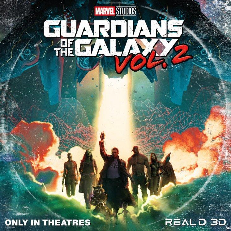 Confira quatro novos pôsteres de Guardiões da Galáxia Vol. 2