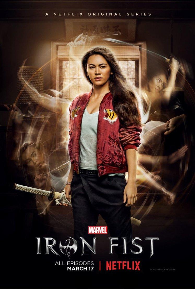 Colleen Wing é destaque no novo pôster da série do Punho de Ferro!