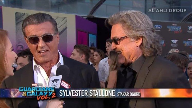 Marvel confirma que Sylvester Stallone é Stakar Ogord em Guardiões da Galáxia Vol. 2