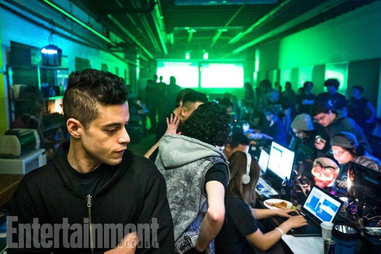 Elliot aparece junto com hackers na primeira imagem da terceira temporada de Mr. Robot!
