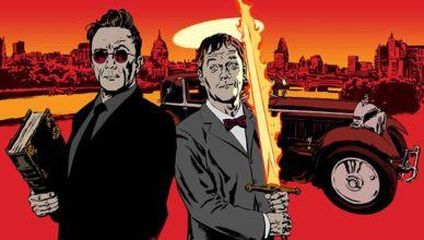 Confira a primeira imagem de Michael Sheen e David Tennant em Good Omens!