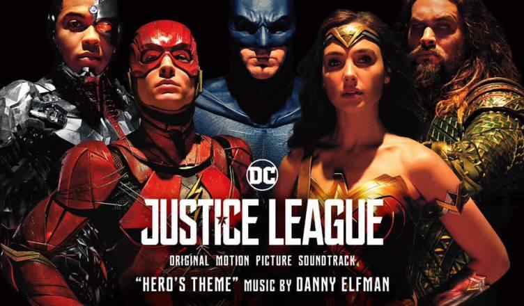 Ouça uma música e confira as faixas da trilha sonora de Liga da Justiça!