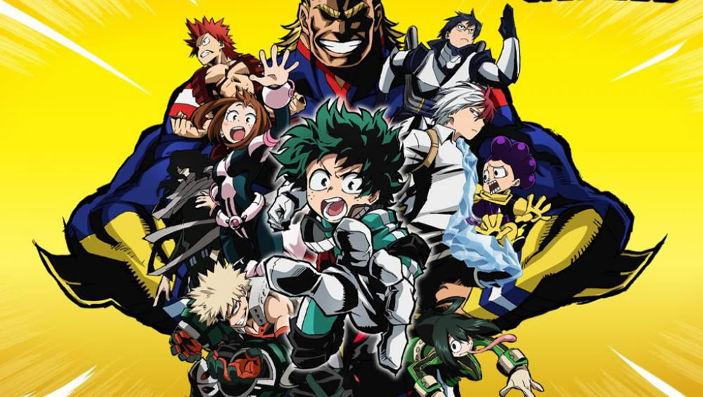 PLUS ULTRA! Boku no Hero Academia ganhará 3ª temporada!