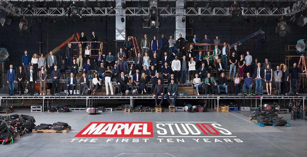 Marvel comemora 10 anos e lança vídeo especial de aniversário