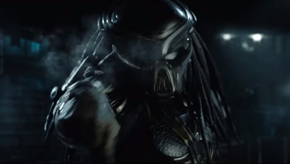Divulgado o primeiro trailer oficial de O Predador!