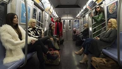 Conheça as personagens no novo trailer e pôsteres de Oito Mulheres e um Segredo!