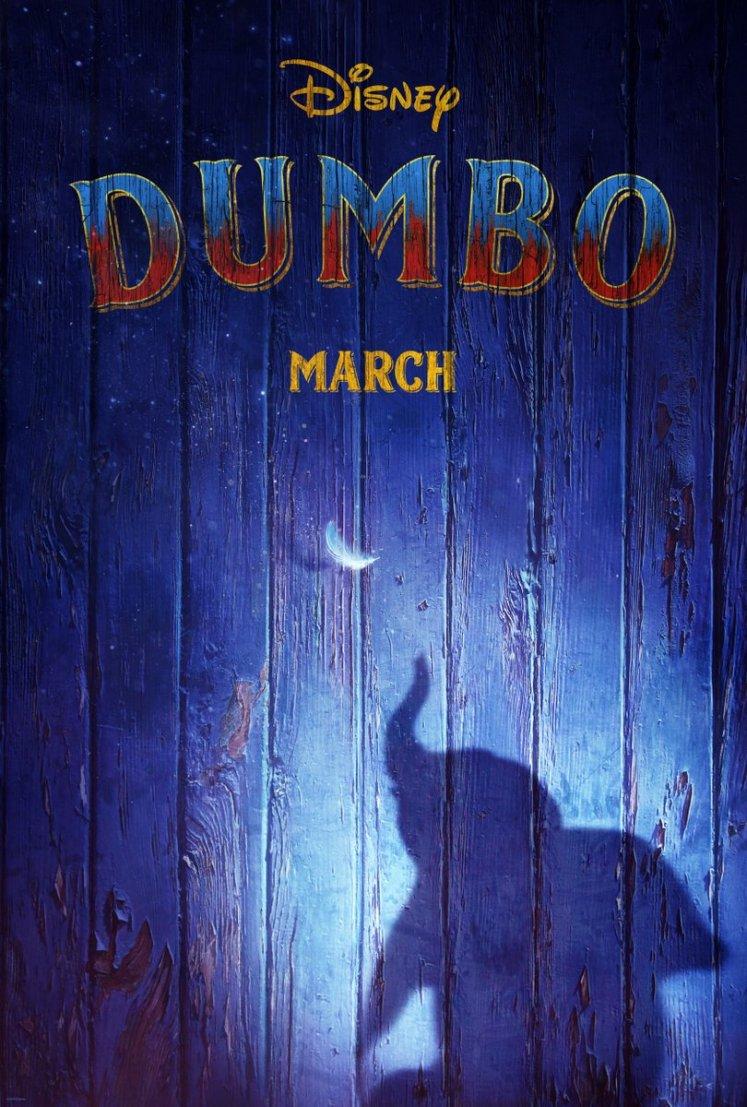 SAIU!!! Divulgado o primeiro trailer de Dumbo, filme dirigido pelo Tim Burton!