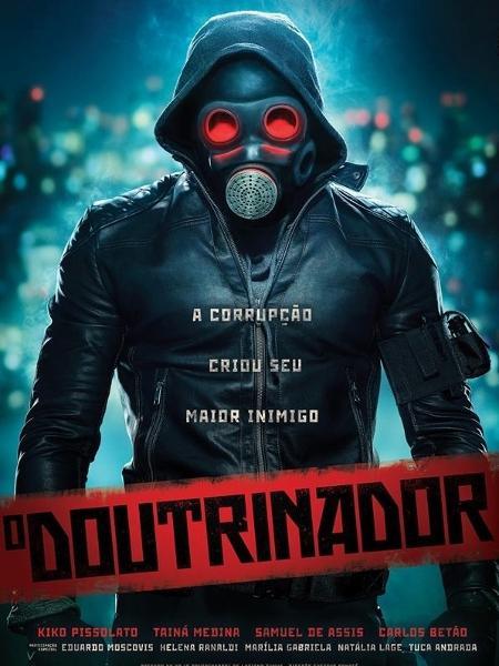Filme da HQ nacional O Doutrinador ganha o primeiro pôster!