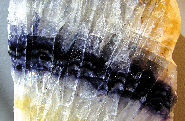 Blue John: Remarkable fluorite from a limestone cavern