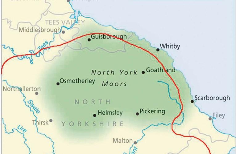 Geology and landscape of Levisham and Newtondale, Yorkshire