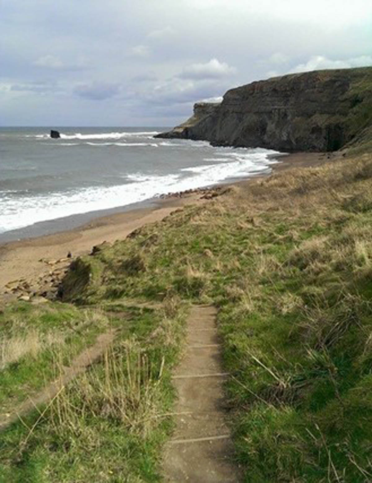 Saltwick Bay, North Yorkshire