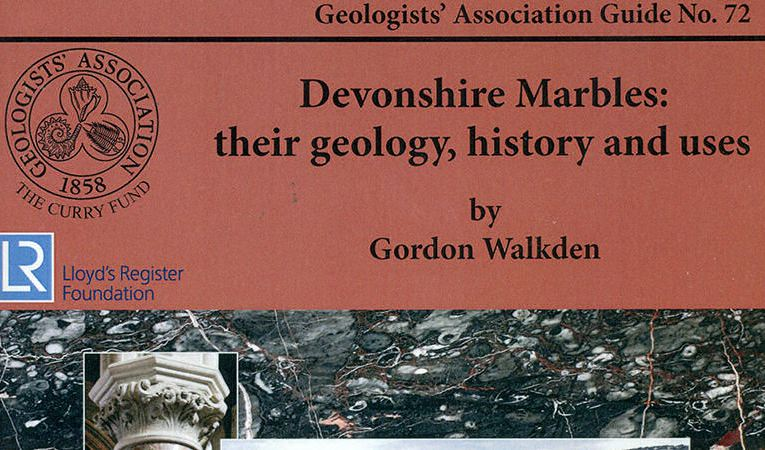 Book review: Devonshire Marbles: Their geology, history and uses (vols 1 and 2), by Gordon M Walkden
