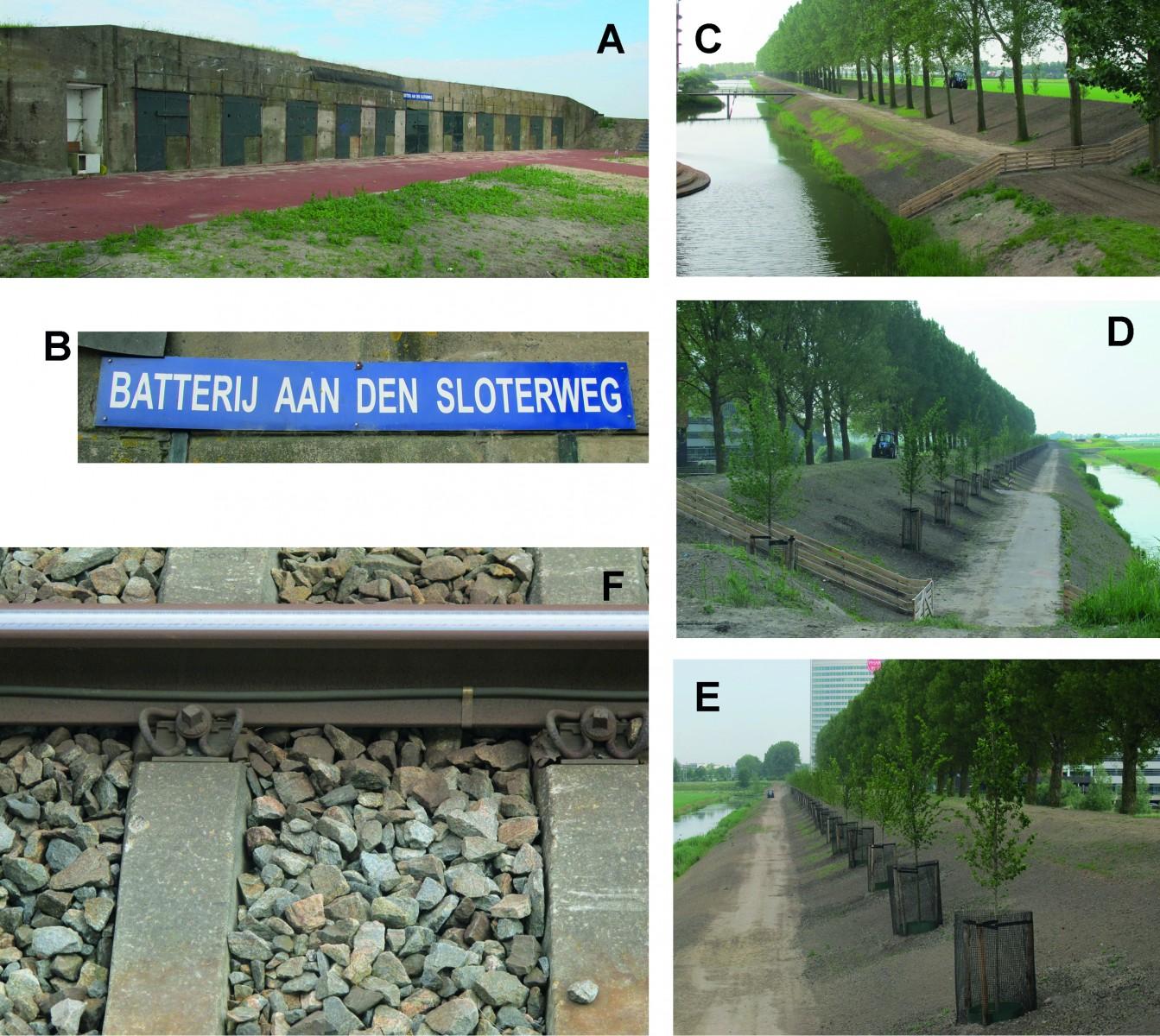 Urban geology: The battery on the Sloterweg