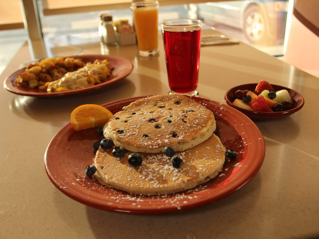 Depot-Diner-blueberry-pancakes