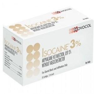 Anestesia Isocaina al 3% Novocol