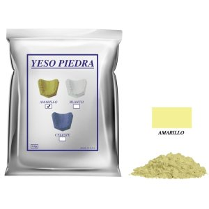 Yeso Piedra amarillo 1 kg