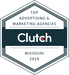 best marketing agency in missouri badge
