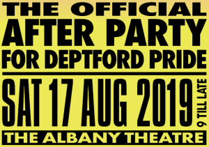 The Official After Party for Deptford Pride