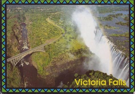 Brian went to Victoria Falls, Zambia.