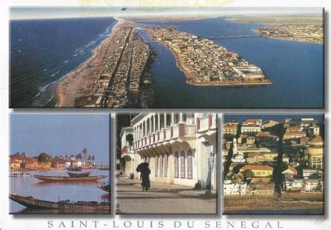Carrie went to Saint-Louis du Senegal.