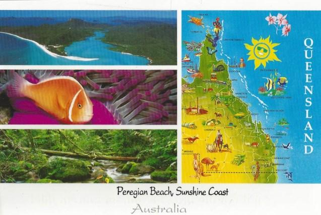 Celeste went to the Sunshine Coast, Australia.