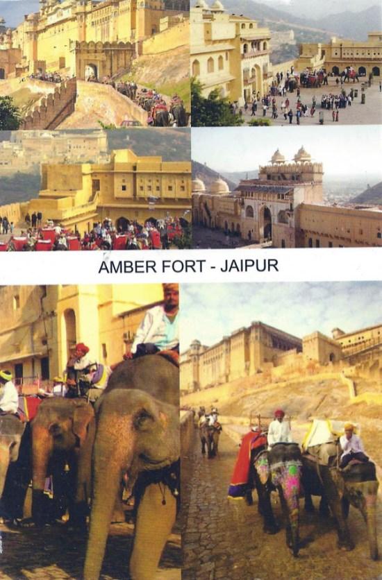 Ruth went to Jaipur, India.