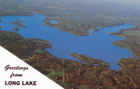 Sandra went to Long Lake, Wisconsin.