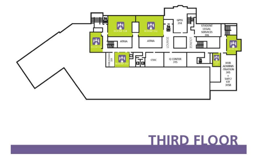 HUB 3rd Floor layout