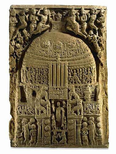 Amravati Stupa Sculpture