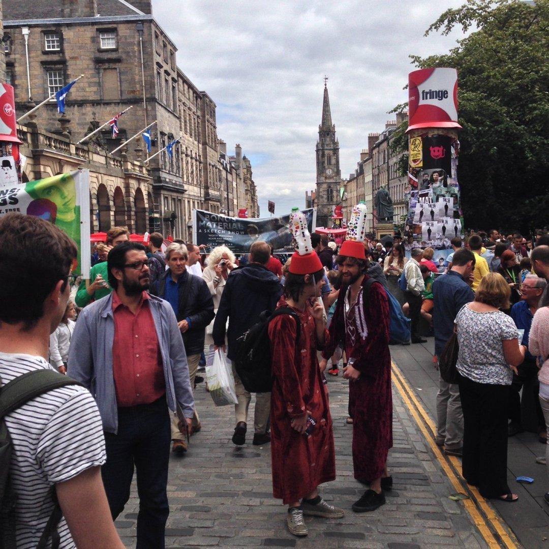 El Festival de Edimburgo.