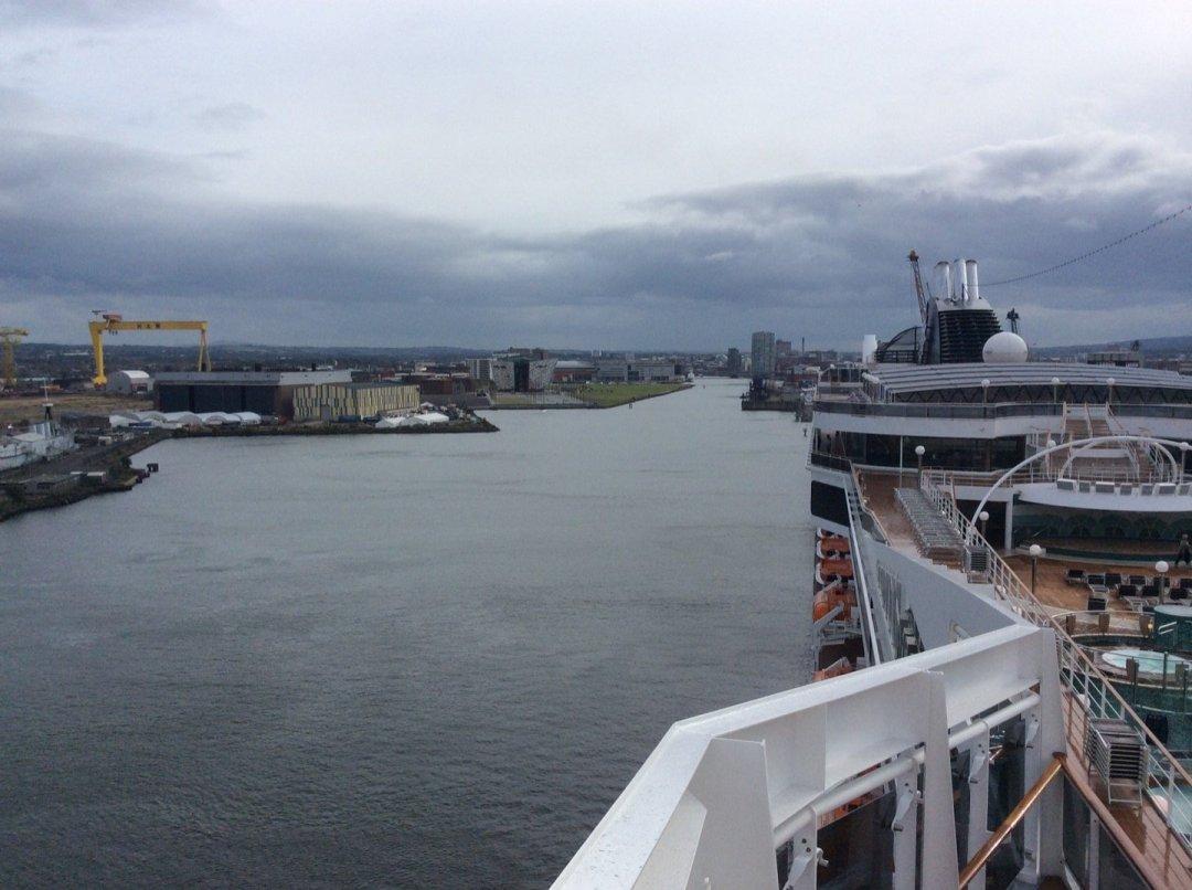 El puerto de Belfast