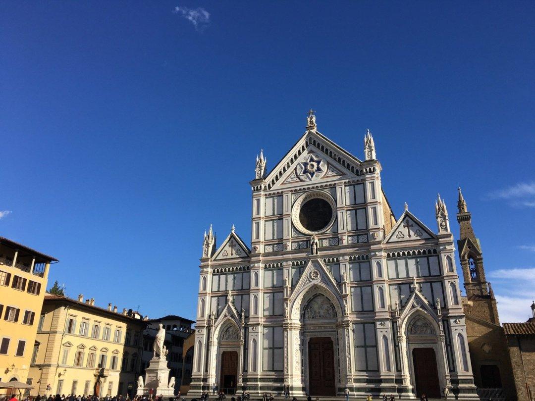 Fachada de Santa Croce.