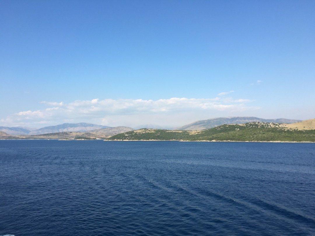 Costa meridional de Albania