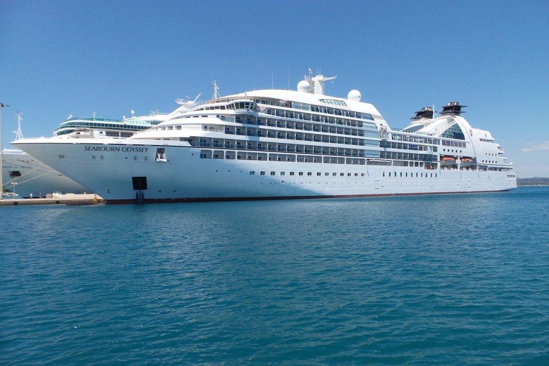El Seabourn Odyssey en Katakolon