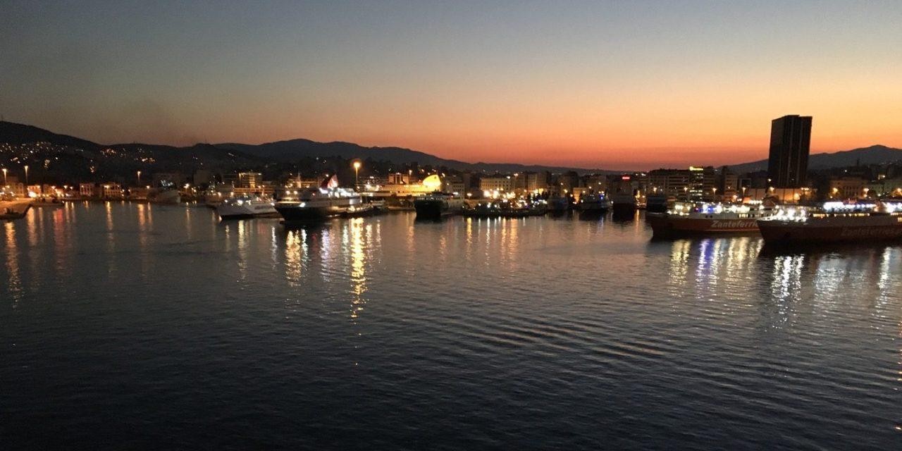 En el puerto de El Pireo
