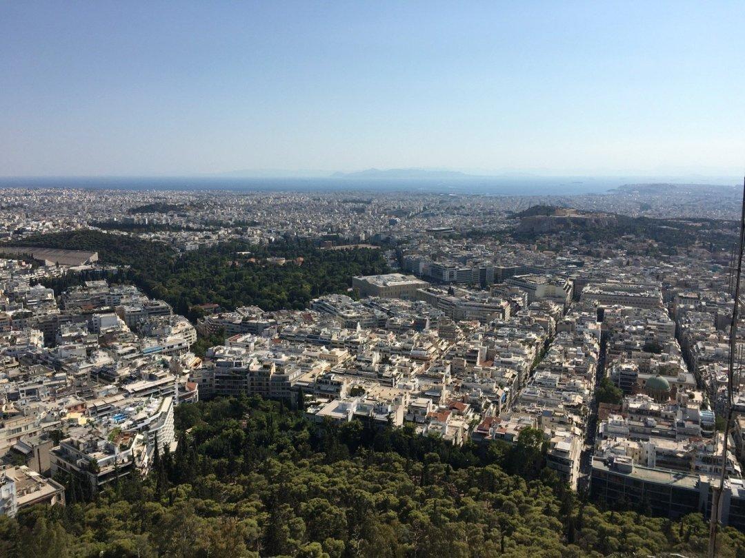 Atenas, desde el Monte Licabeto