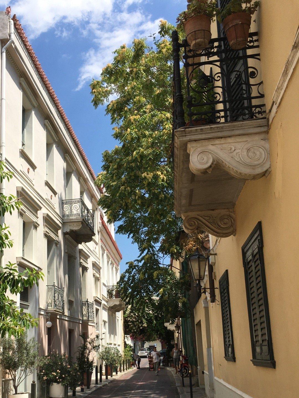 Calle Lysiou, en Plaka
