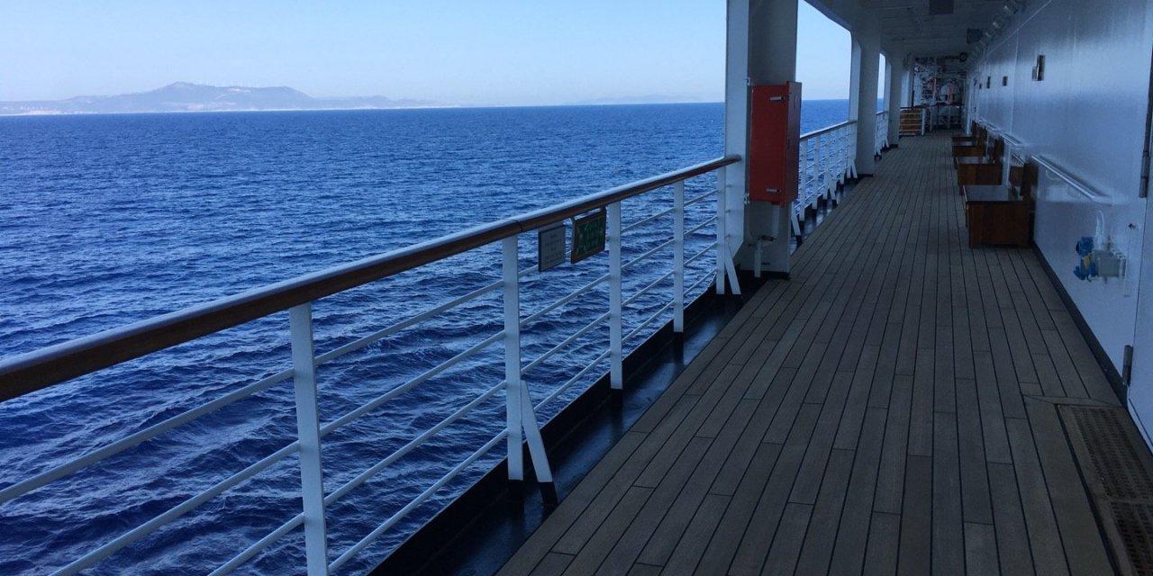 En la costa del Peloponeso