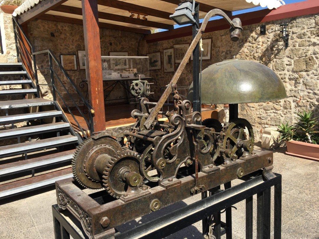 Maquinaria original del reloj