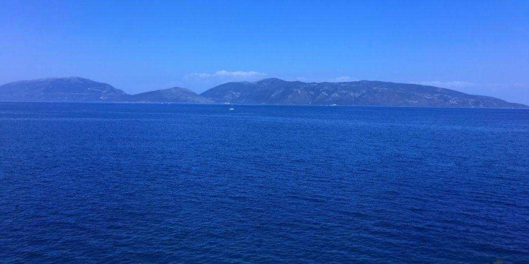 Vista de Itaca desde Sami