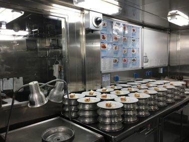 Cocina del MS Eurodam 3