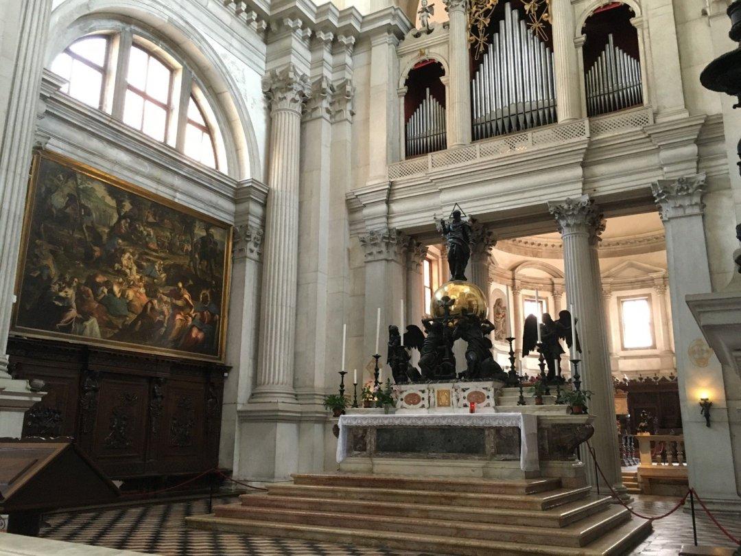 Interior de San Giorgio Maggiore