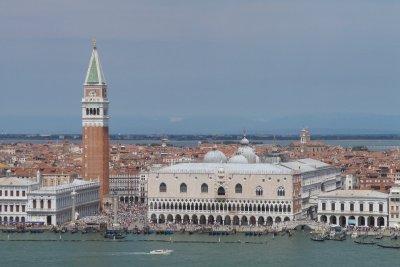 San Marco desde el campanile de San Giorgio Maggiore