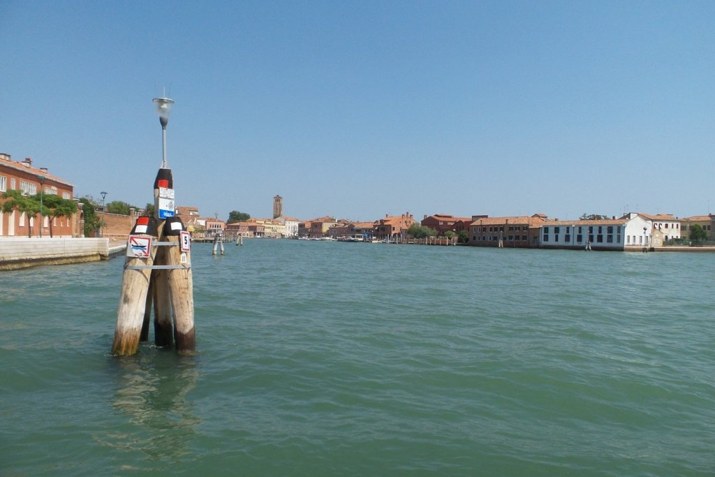 Zarpando de Murano