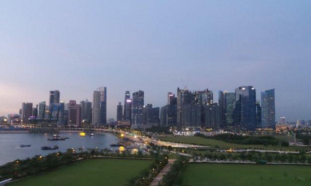 Zarpando de Singapur