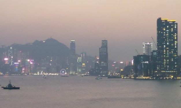 Escala en Hong Kong
