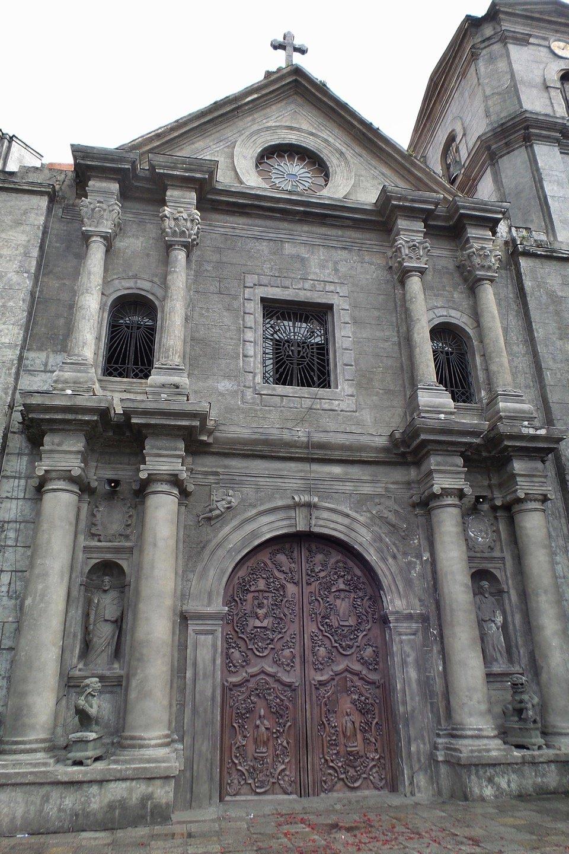 Fachada principal de San Agustín