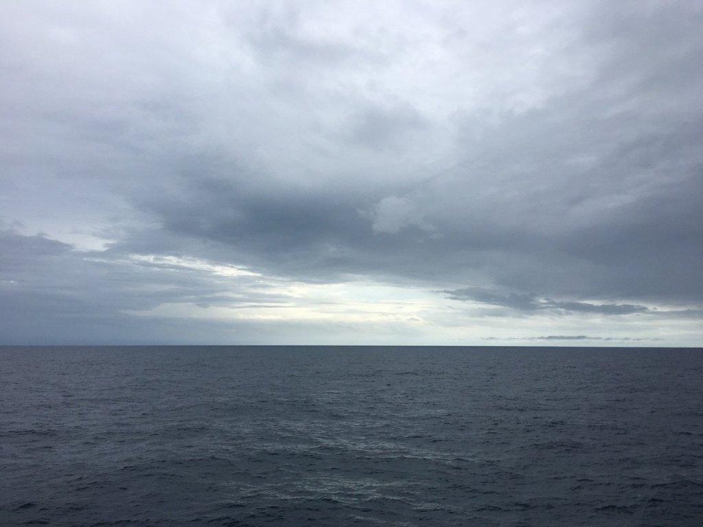 Mar solitario frente a Sarawak